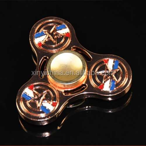 Avenger Alliance US Captain edc Clover Gendro Gyro Decompression Toys Fantastic Hand Spinner Fidget Spinner