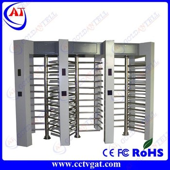 Enter and exit high quality electrical standard double passage automatic turnstiles for intelligent access control