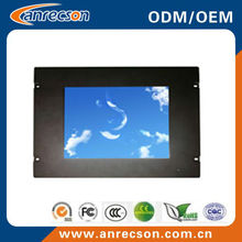 "8"" best-selling rack mount lcd monitor with VGA/DVI/HDMI input"