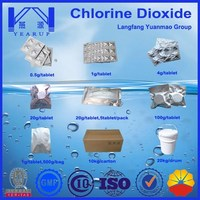 2016 Hot Sell Water Purification Tablet Called Stablilized Chlorined Dioxide Tablet With Best Quality