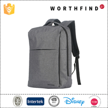 Customzied branded canvas laptop backpack for school