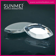 Taiwan Manufacturer Quality Eye Shape Flatback Non Hot-Fix Rhinestone