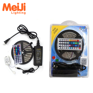Waterproof 44 Keys IR Remote Controller RGB SMD 5050 Flexible Light Kit RGB LED Strip