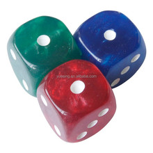 Dice for Game Resin Game Dice - Pearl Version