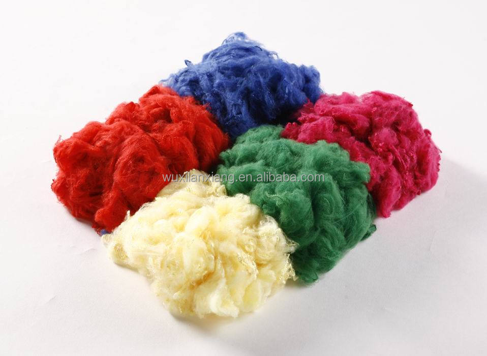 dope dyed color polyester staple fiber PSF