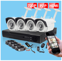 smart home security system cctv kits 4 channel cctv camera dvr kit