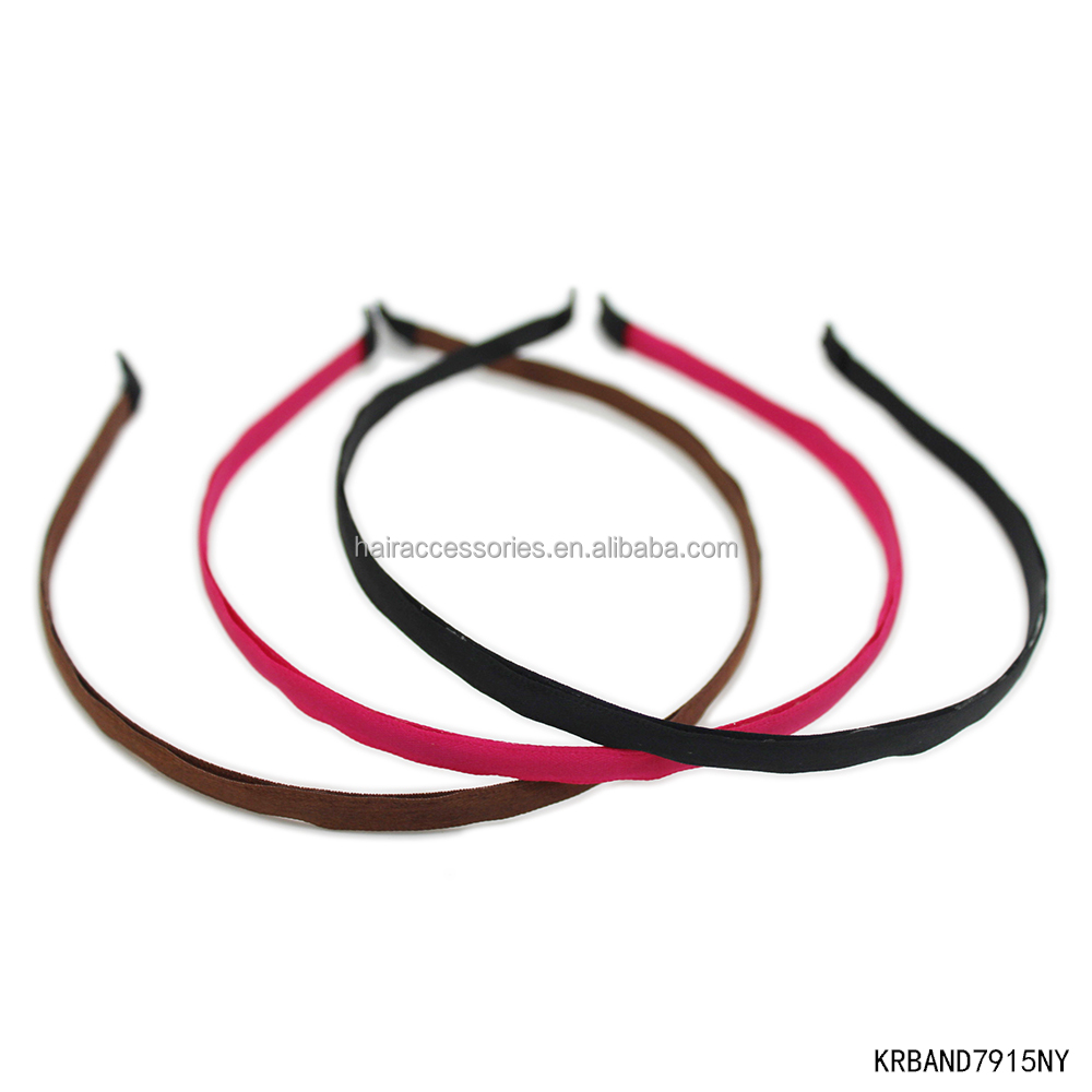 fashion hair accessory narrow hairband Alice band