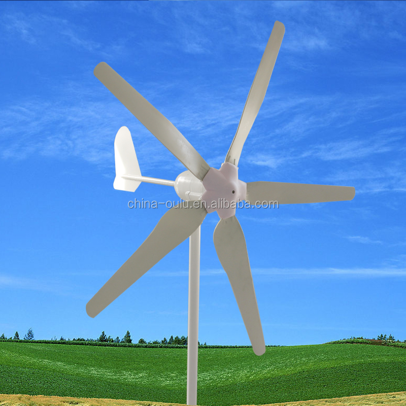 Small wind turbine for roof electric generating windmills for sale 300w