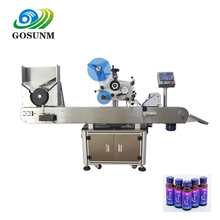 Gosunm Vial Bottle Automatic Labeling Machine for E-Liquid Medical Syrup
