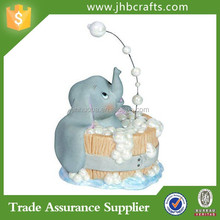 Custom Elephant In The Bath Resin Figurines