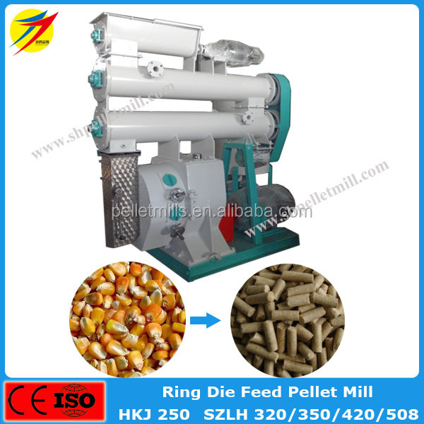 Competitive price good quality chicken cow pig feed formulation pellet making machine
