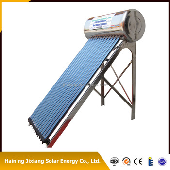 Stainless Steel Evacuated Tube Solar Water Heater Water Heating System