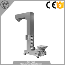 Z Type Bucket Conveyor for sugar/candy/snacks/nuts packing machine