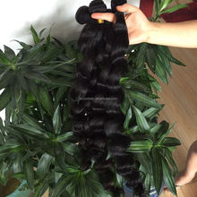 free sample hair bundles loose wave 100% unprocessed raw virgin Brazilian hair weave bundles