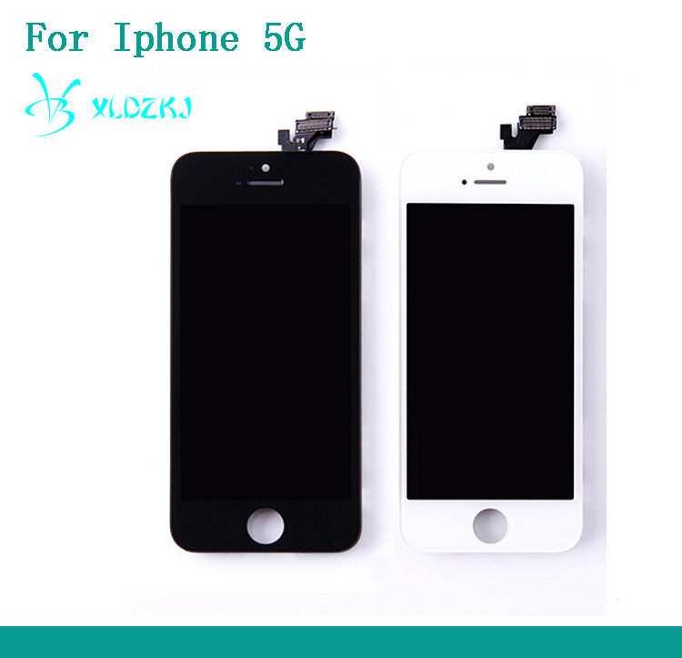 Mobile phone LCD Display High Quality For Iphone 5G LCD Touch Screen