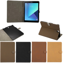 Hot Sell Product Retro Frosted Leather Case for Samsung Tab S3 9.7 T820