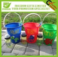 Cheap Custom Plastic Beach Buckets