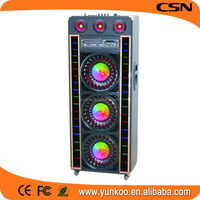 high sound speakers with led dance floor design,void audio,pro acoustic active stage speaker with subwoofer