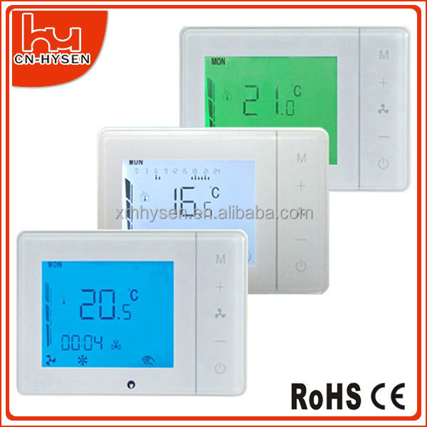 Programmable or non- programmable LCD Room Digital Air Conditioner thermostat imit