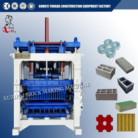 2015 the best quality price block making machine / full automatic fly ash brick making machinery hot sales in India