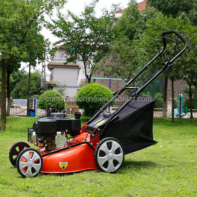 20 inch Gasoline Hand Push Lawn Mower for sale