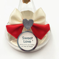 Low price Pre-made Ribbon Bow For Chocolate Packaging Gift Satin Bow