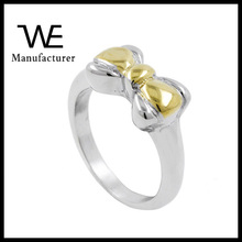 Cute Girls Jewelry Rosette Ring in Stainless Steel Material