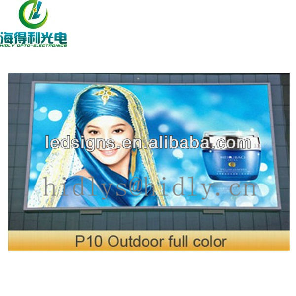 Vivid image p10 led display for outdoor alibaba express China manufacturer in Shenzhen