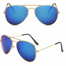 wholesale 17 colors available cheap fashion aviator sunglasses women/men classic aviation sun glasses