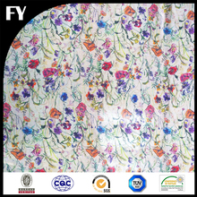 Factory direct custom printed chiffon fabric fashionable patterns