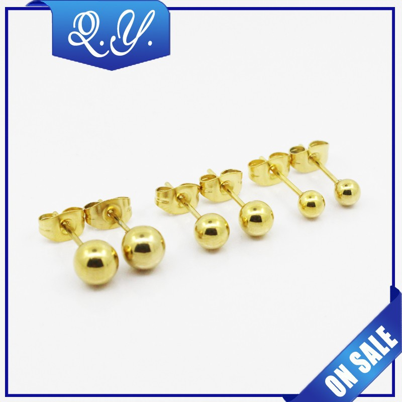 one gram gold earrings ball designs jewelry
