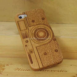Hot selling bamboo wood custom phone cover for iphone 5s