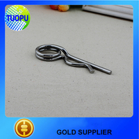 stainless steel 316 spring cotter pin DIN11024,R shape spring cotter pin