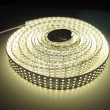Super bright lighting 24v smd3528 4 row led strip 360led/0.8 up to 2880lm/0.8m hot in usa 4 row led strip