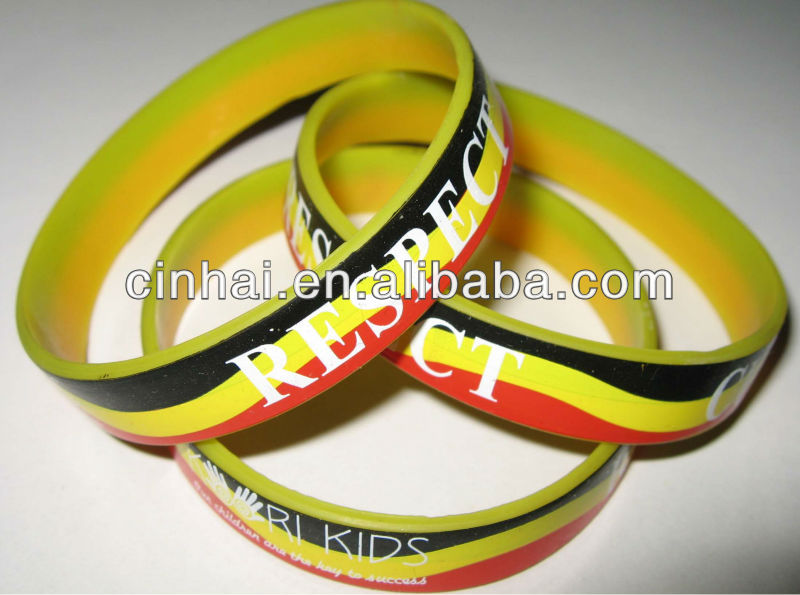 cheap sell high quality customized silicone bracelet printer