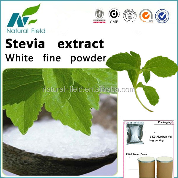 stevia extract 95% stevioside pure powder