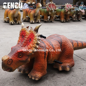 Dinosaur Game Coin Operated Walking Dinosaur Ride For Sale