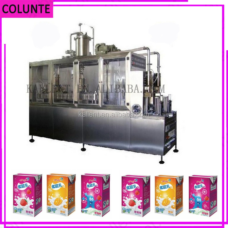 High speed SIG Combibloc Soy Milk Filling Machine