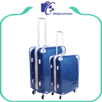 Custom waterproof plastic protective luggage cover