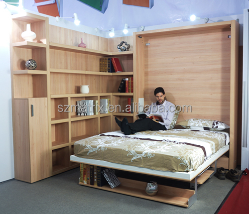 Folding Wall Bed Furniture With Study Table, Wall Bed Furniture, Folding Bed