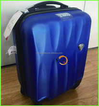 17' inch polycarbonate PC travel trolley luggage bags