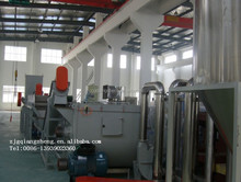 High Productivity Waste Plastic Film Recycling Production Line