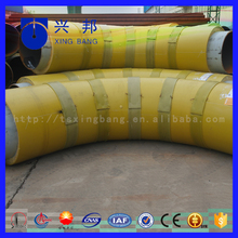 120 degree seamless black steel bend with polyurethane insulation for insulated pipe fitting