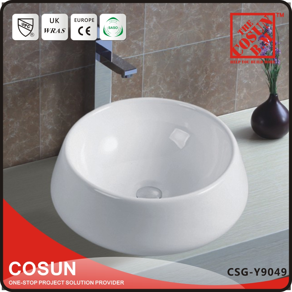 Chinese Above Counter Wash Hand Basin Set