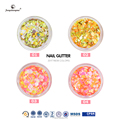 nail decorations sequins mixed color glitter sequins