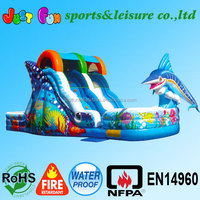 Colourful cheap inflatable water slides for sale ,Inflatable water slide, Commercial Slide