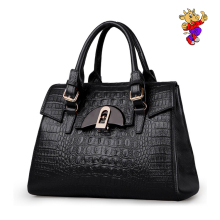 2017 Newest fashion genuine leather woman's tote bag womens handbag alligator grain leather bags