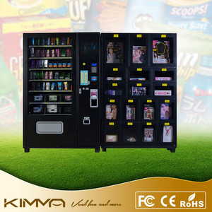 Self service adult toys dildo vibrator vending machine with advertising displayer