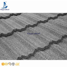 light grey quality Steel ROOF shingle Modern Classical type tile