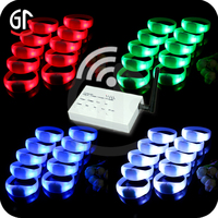 Distributor Required Novelty Led Remote Controller Bracelet With Color Changing